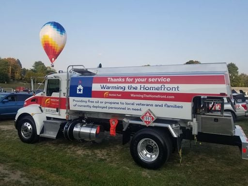 warming the homefront truck