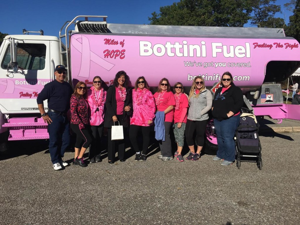 Pink Truck - Miles of Hope Breast Cancer Foundation