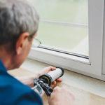 Window caulking